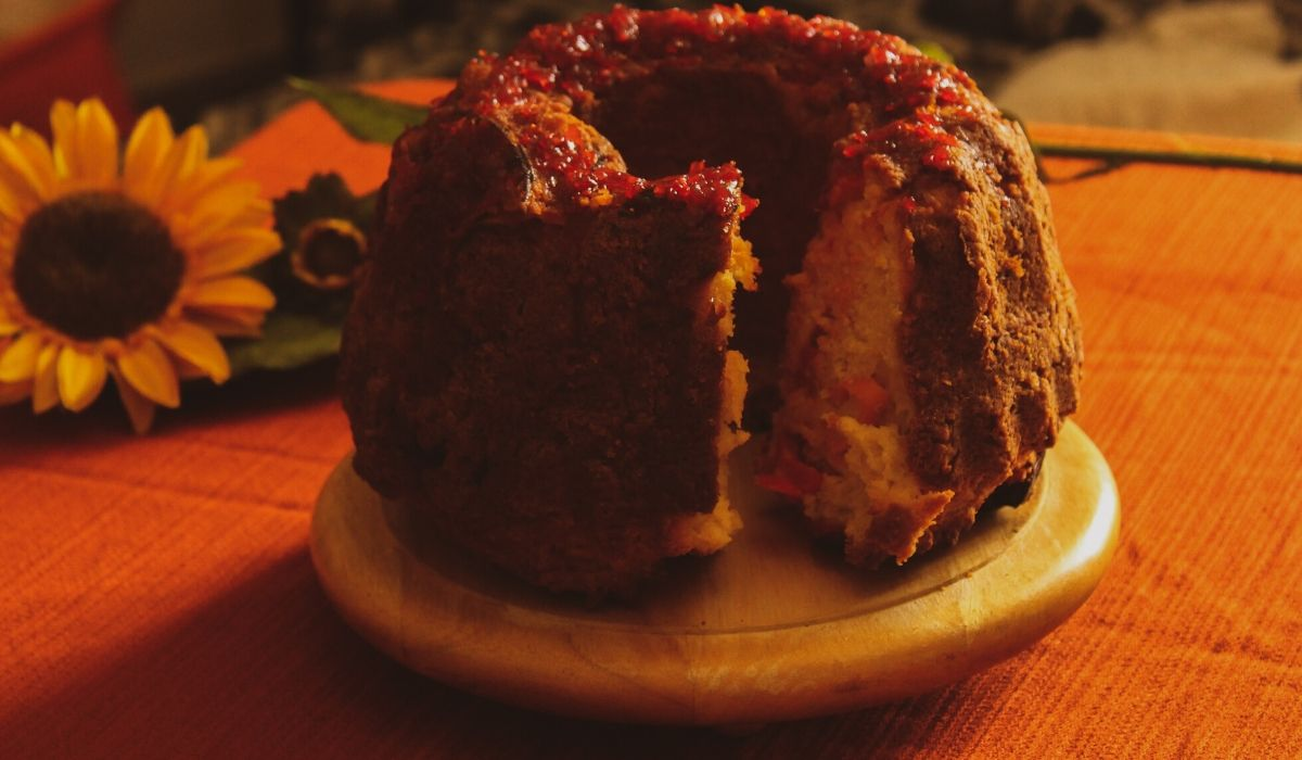 κέικ πιπεριάς