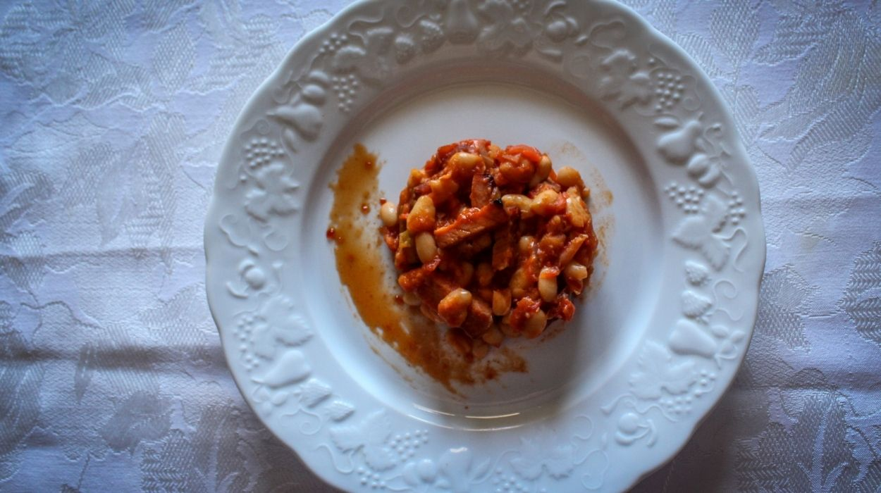 φασόλια στο φούρνο